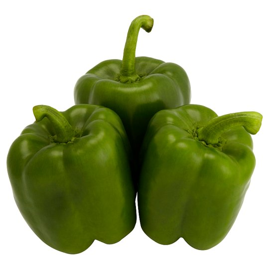 image 1 of Tesco Green Peppers Each