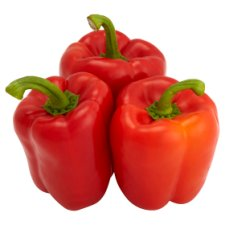 Tesco Red Peppers Each