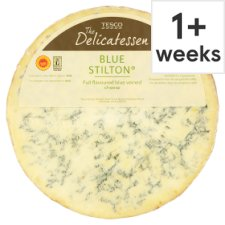 Counter Tesco Blue Stilton