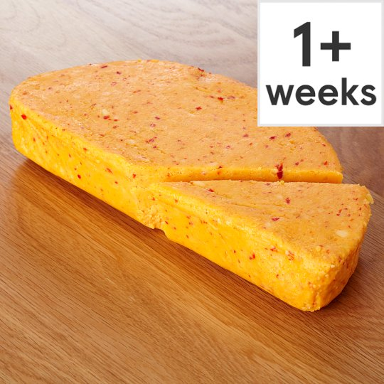 Counter Tesco Cheddar With Chilli And Lime