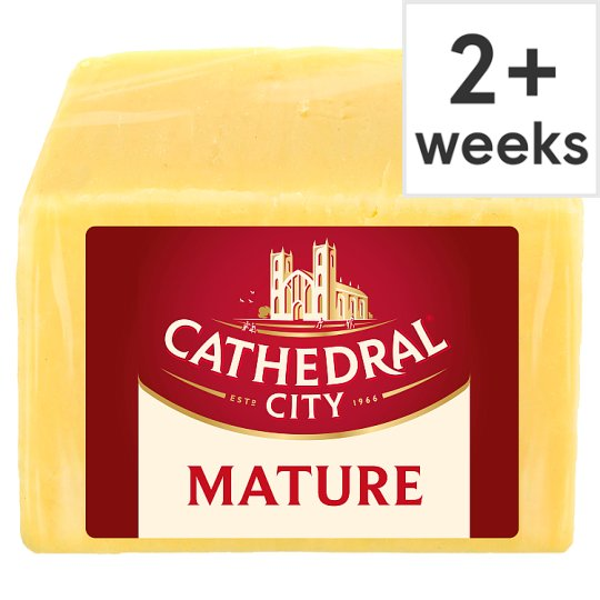Counter Cathedral City Mature Cheddar