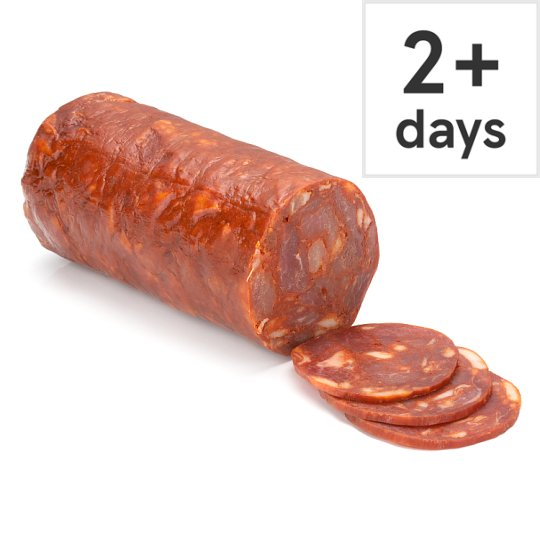 Counter Sliced Spanish Chorizo By Weight