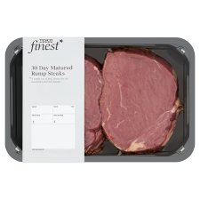 Tesco Finest 2 Beef Rump Steaks