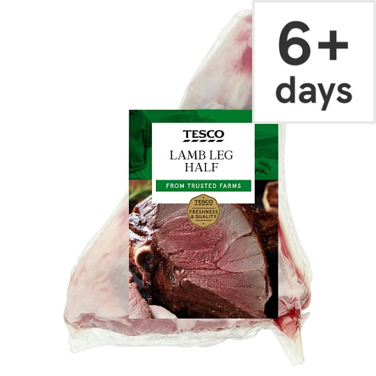 Tesco Lamb Half Leg - Price Shown Per Kilograms