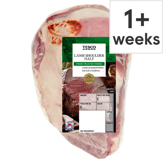 Tesco Lamb Half Shoulder Joint