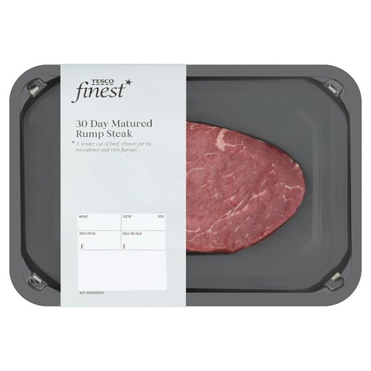 Tesco Finest 1 Beef Rump Steak