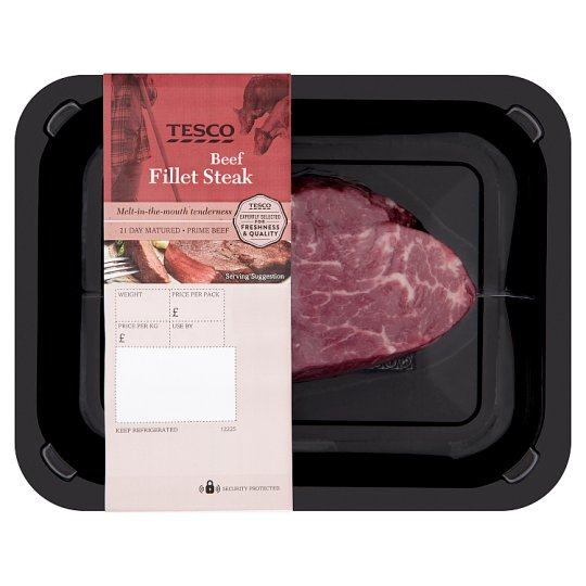 Tesco 1 Beef Fillet Steak