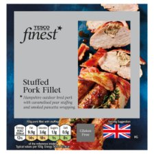 Tesco Finest Stuffed Pork Fillet 495G