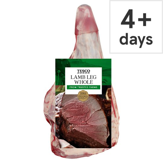 Tesco Lamb Whole Leg-Price Shown Per Kilograms