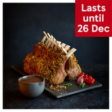 Tesco Finest British Lamb Guard of Honour with a Herb Crust and Red Wine Jus 0.93kg-1.15kg, Serves 4