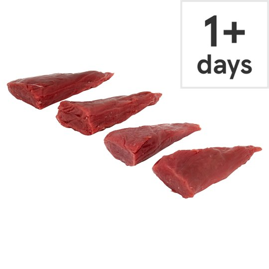 Counter Tesco British Beef Fillet Pieces