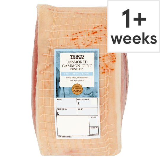 Tesco Unsmoked Boneless Gammon Joint