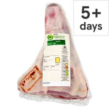 Tesco Organic British Lamb Half Leg Joint