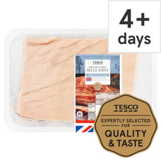 Tesco Pork Belly Joint With Rind