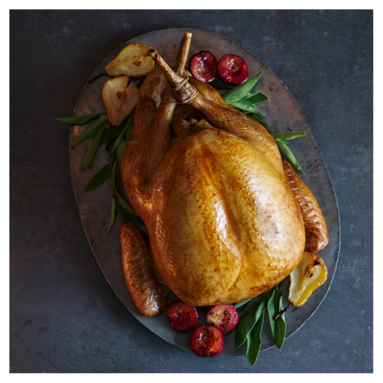 Tesco Basted Whole Turkey Large 6kg-7.49kg, Serves 15-18