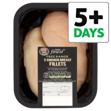 Tesco Finest 2 Cornfed Free Range Chicken Fillets 250G-380G