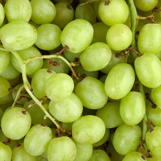 Tesco Green Seedless Grapes Loose