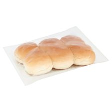 Tesco Crusty White Rolls 6 Pack