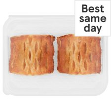Tesco Apricot And Custard Lattice 2 Pack