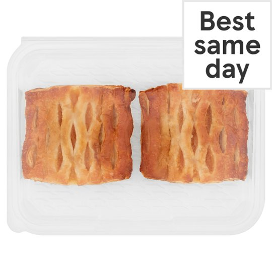 image 1 of Tesco Apricot And Custard Lattice 2 Pack