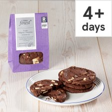 Tesco Finest Triple Chocolate Cookie 4 Pack