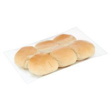 Tesco Big Bite Soft White Rolls 6 Pack