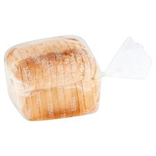Tesco Crusty White Farmhouse Sliced Bread 400G