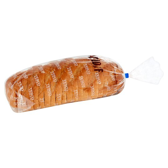 Tesco Crusty White Bloomer Sliced 400G
