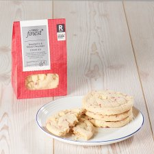 Tesco Finest Raspberry & White Chocolate Cookies 4 Pack