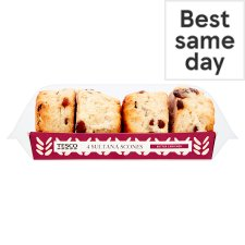 Tesco Sultana Scones 4 Pack
