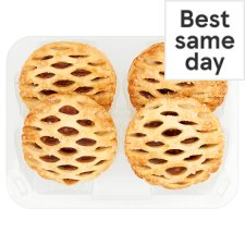 Tesco 4 Lattice Top Puff Pastry Mince Pies