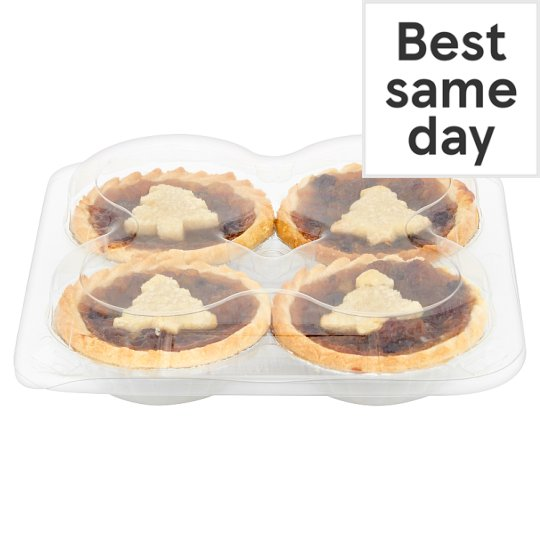 Tesco Shortcrust Mince Pie 4 Pack