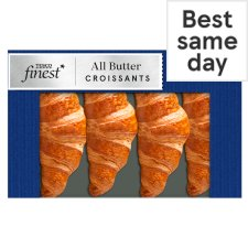 Tesco Finest All Butter Croissant 4 Pack