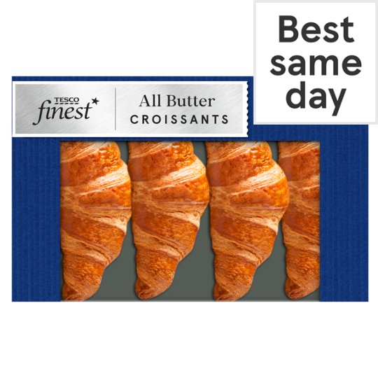 Finest French All Butter Croissant 4 Pack