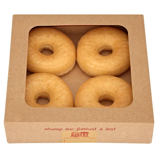 Glazed Ring Doughnut 4 Pack
