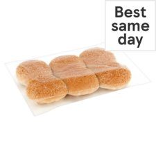 Tesco Seeded Burger Buns 6 Pack