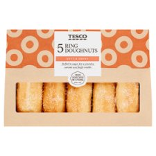 Tesco 5 Ring Doughnuts