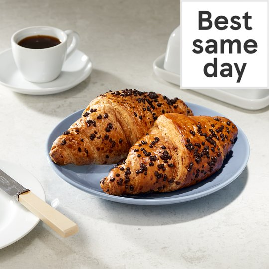 Tesco Chocolate Croissant 2 Pack