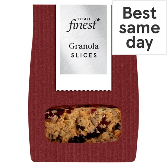 Tesco Finest Granola Squares 4 Pack