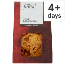 Tesco Finest Sticky Toffee Cookies 4 Pack
