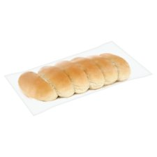 Tesco Hot Dog Rolls 6 Pack