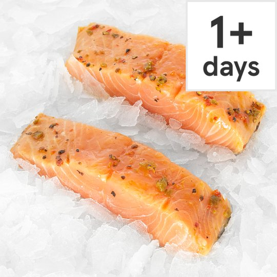 Tesco Finest Counter Traditional Smoked Salmon Fillet 130G