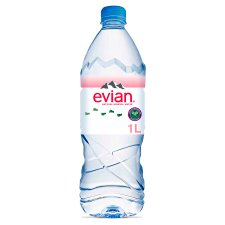 Evian Natural Mineral Water 1 Litre
