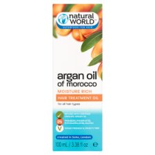 Natural World Argan Oil Hair Treatment Oil 100Ml