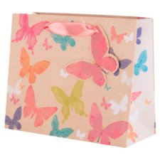 Tesco Kraft Butterfly Small Bag