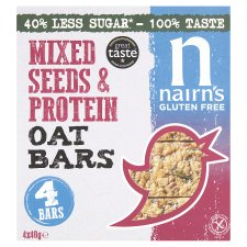 Nairns Gluten Free Oatbar Mixed Seeds & Protein 160G