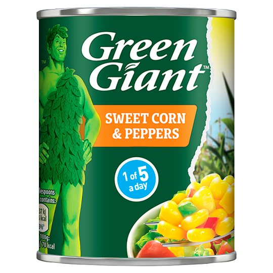 Green Giant Sweetcorn And Peppers 198G