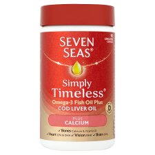 Seven Seas One A Day Cod Liver Oil And Calcium 90'S