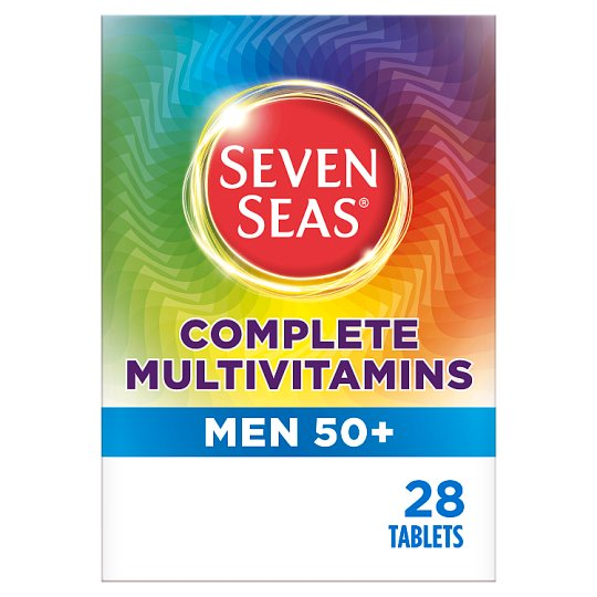 Seven Seas Limited Multivitamins 50 + Men Capsules28