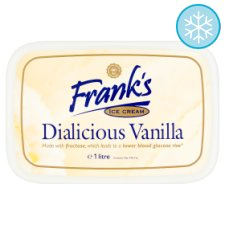 Franks Diabetic Vanilla Ice Cream 1 Litre